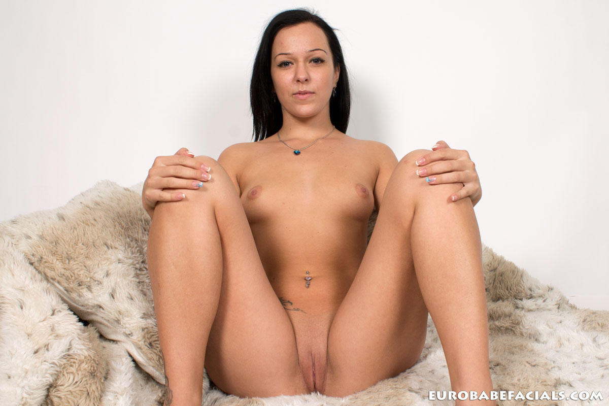 Raven haired euro solo fingering 10